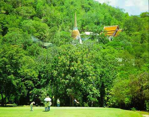 View of the 14th Hole of the Royal Hua Hin Golf Course