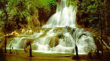 Falls at Sai Yoke National Park