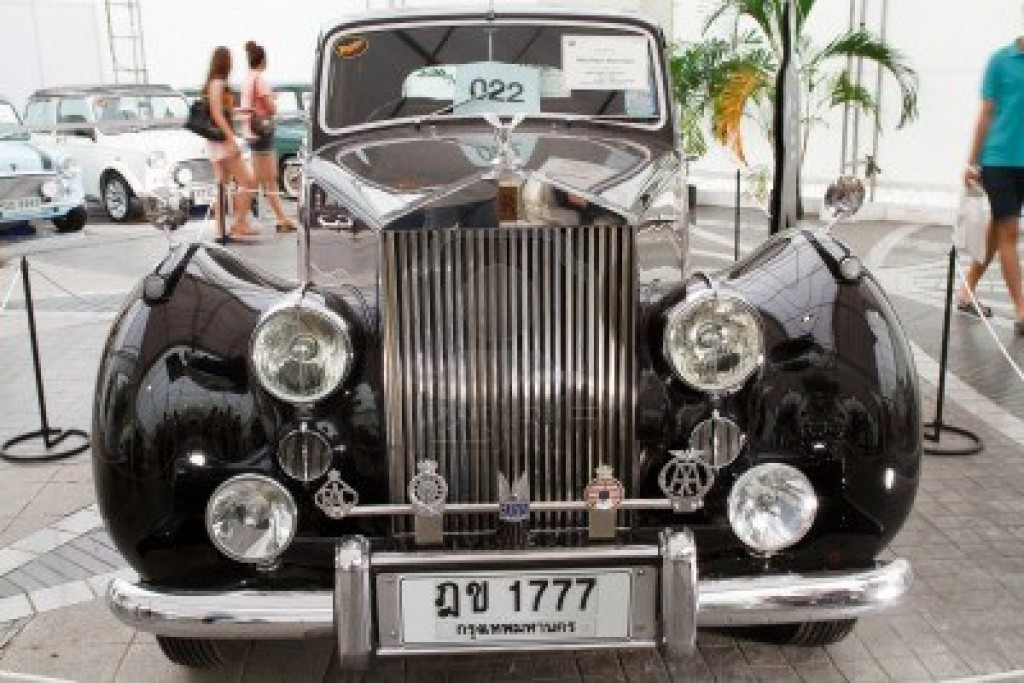 Rolls Royce Silver Dawn to be seen at Hua Hin Automobile Concours 2013
